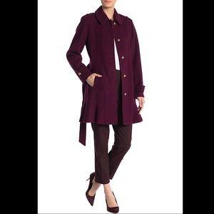 🔥🔥🔥NWT Kate Spade Belted Flare Hem Wool Coat